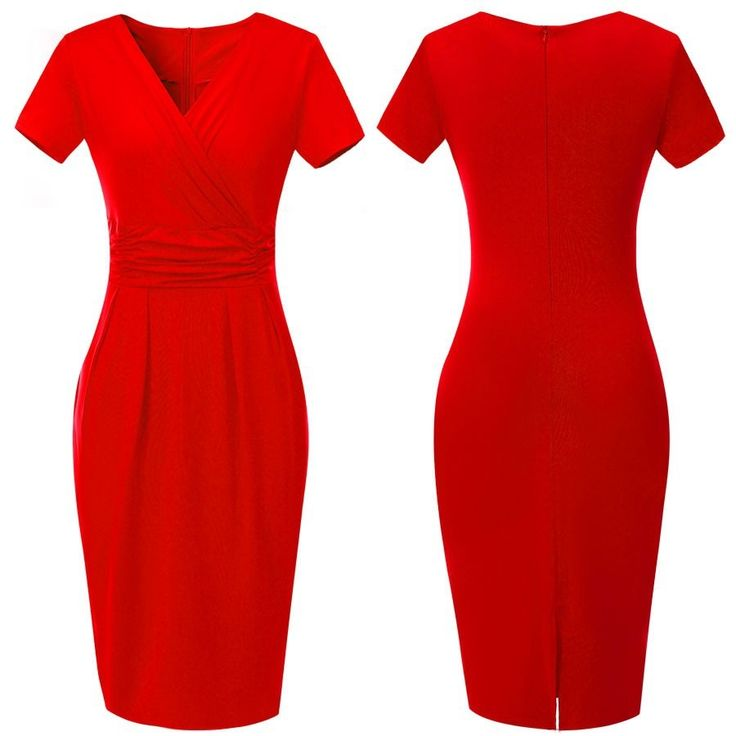 Attractive Red Work Dresses