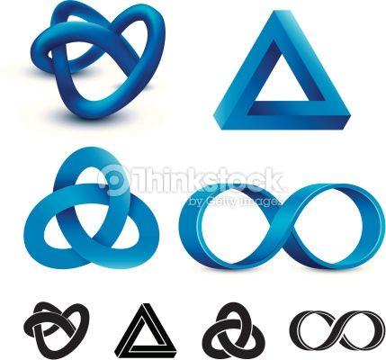 ベクトルアート : Infinity symbols