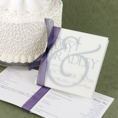 28 Best Wedding Programs Images On Pinterest