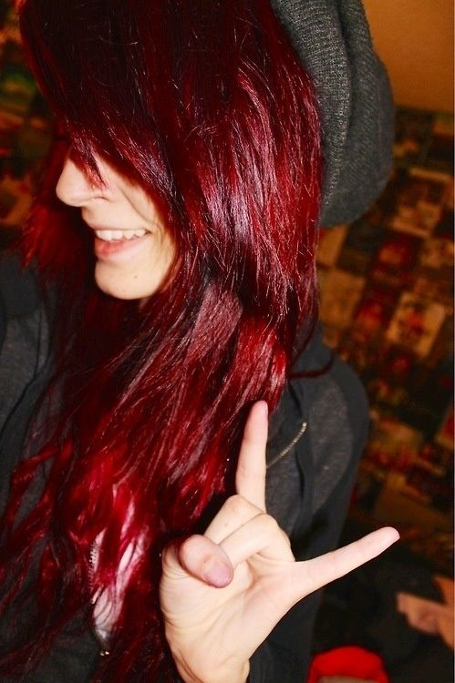 I love this color and would love to dye my hair like this someday