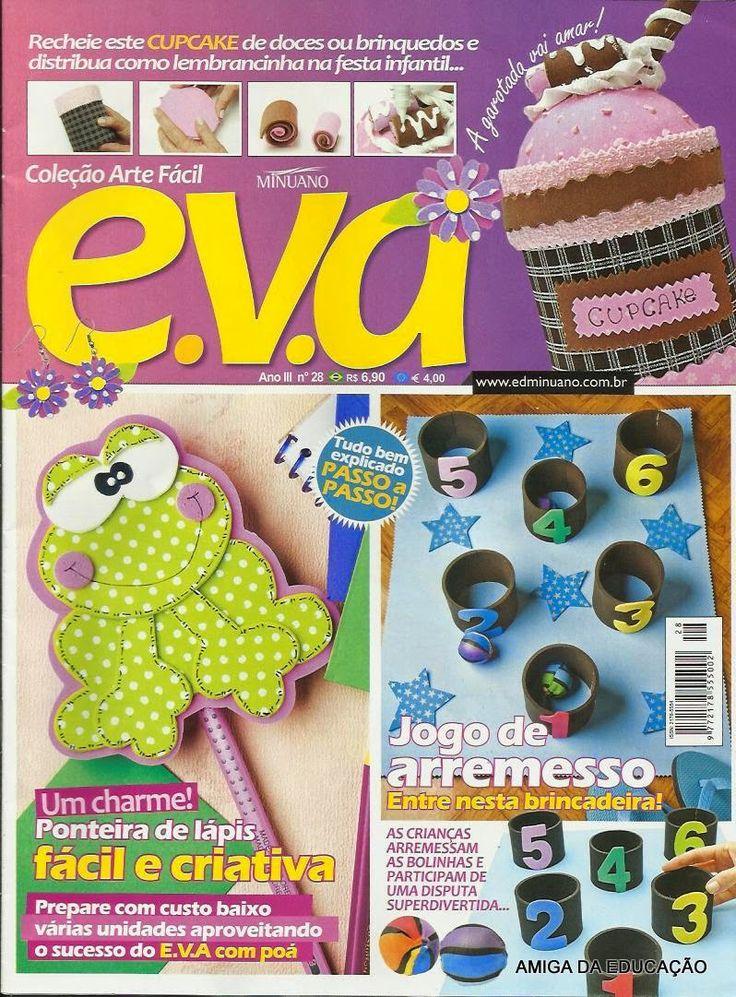 como hacer pastelitos en goma eva revistas de gratis