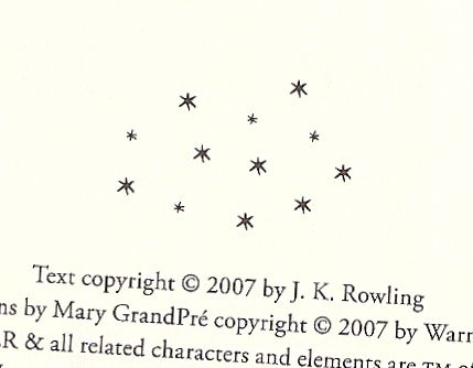 the chapter stars from hp