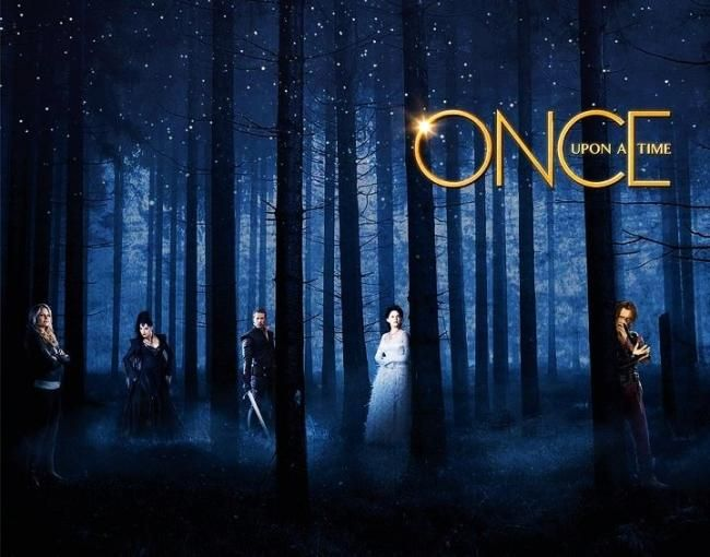 A starry night in Once Upon A Time
