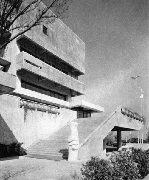 Prefectural Youth Center, Yokohama, Kanagawa Prefecture, Japan,...
