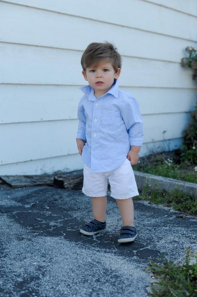 Baby boy Miami style...just needs his fedora
