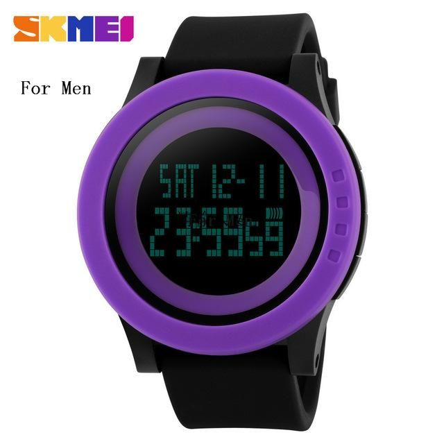 2016 SKMEI Popular Brand Watches Men Sport Digtal LED Wristwatch 50m Waterproof Relojes Hombre Horloge Orologio Uomo Clock Hour