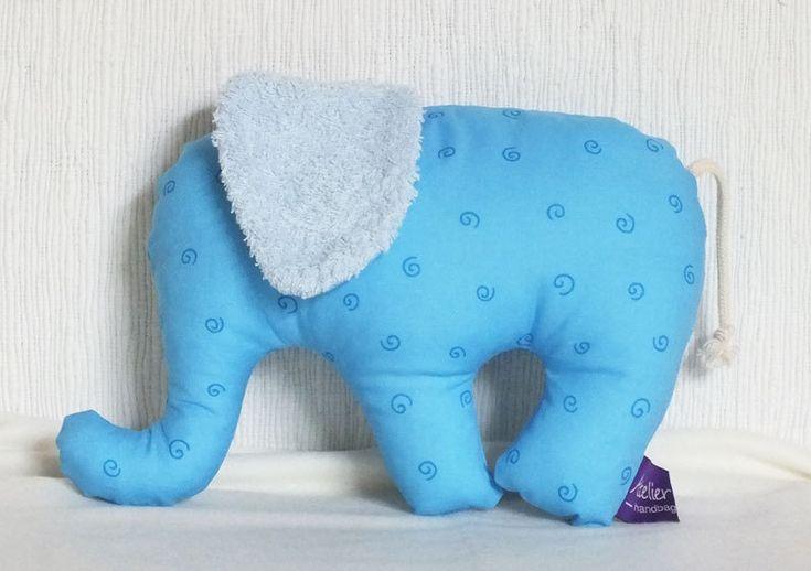 Kuschel-Elefant * Kuscheltier  von Atelier Isabella auf DaWanda.com
