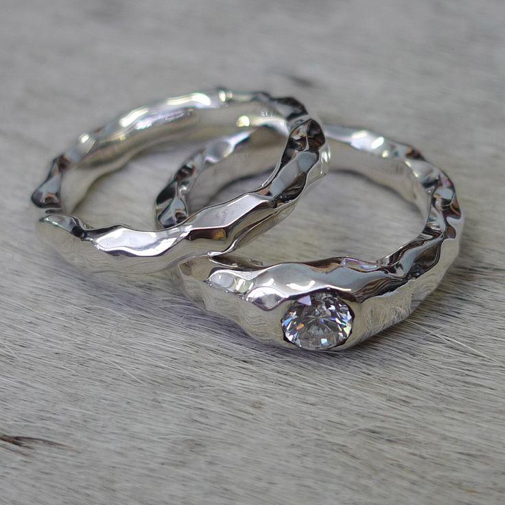 43 best Bespoke Wedding Rings images on Pinterest Bespoke Custom