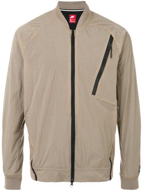 Nike Nike Sportswear tech hypermesh varsity jacket
