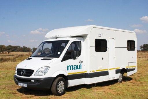 maui 4 stl - motorhome rental in South Africa