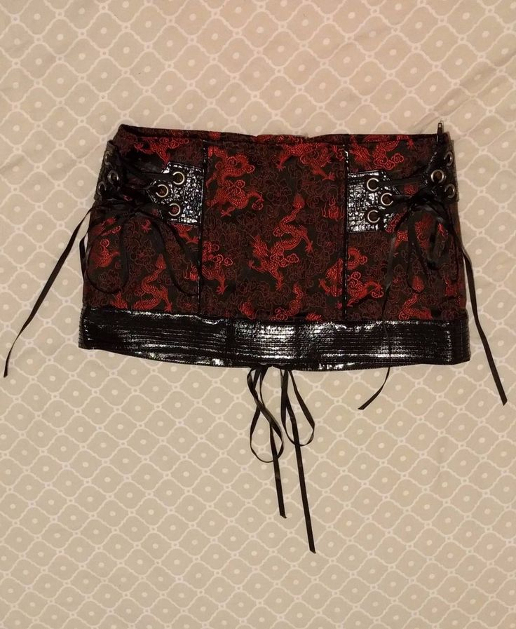"LIP SERVICE Hollywood Geisha ""Wax Museum"" mini skirt #35-90"