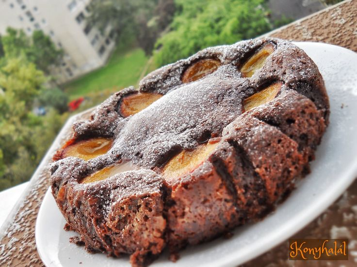 kakaós süti gyümölcsös szilvás (bögrés)