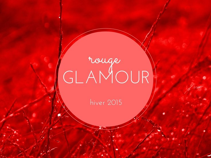 Guide shopping rouge glamour