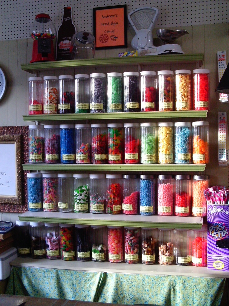 Candy, candy and more candy