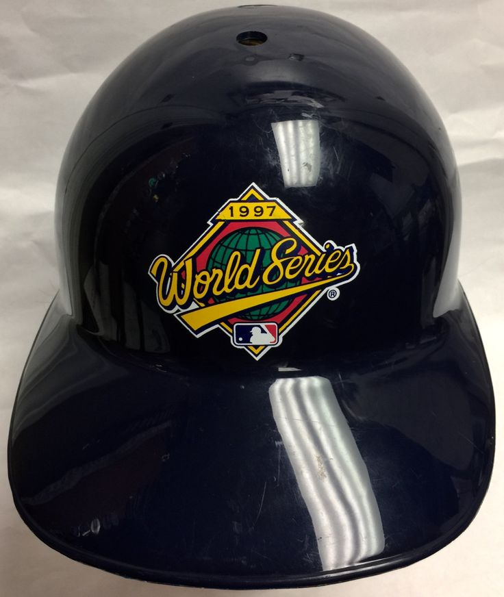 Vintage 1997 World Series Replica Batting Helmet by CoryCranksOutHats on Etsy