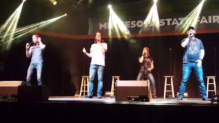 "Home Free  ""Seven Bridges Road""  Minnesota State Fair  9-6-15"