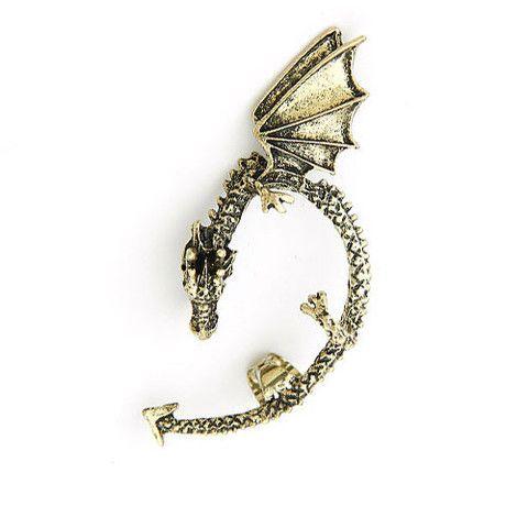 """""""Daenerys"""" Dragon Ear Cuff $12 http://www.milkymoon.com.au/products/daenerys-dragon-ear-cuff"""
