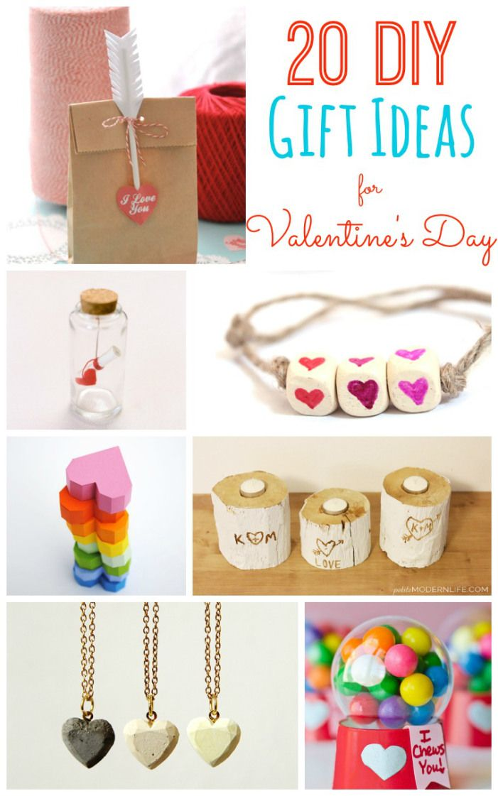 20 DIY Gift Ideas for Valentine's Day! Great ideas for friends, your spouse, kids or anyone you love! -- Tatertots and Jello