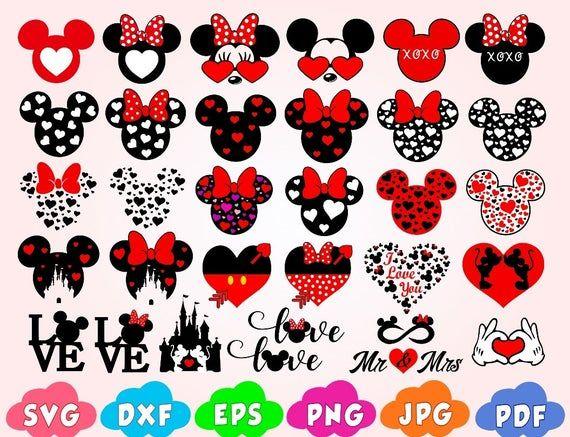 Download Disney valentine svg,Mickey valentine svg,Mickey love svg ...