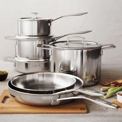 Demeyere® Industry5 10-Piece Cookware Set | Sur La Table
