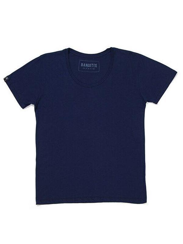 T-Shirt 008 Premium Blue | T-Shirt em algodão pima.  Gola redonda.  100% algodão.