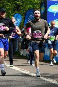 Leslie Benzies running