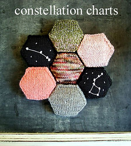 Constellation chart by Amanda Ochocki. Great pattern to use on her merit badge pattern or the beekeeper's quilt