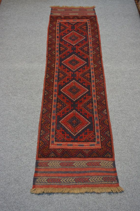 Afghan Mishwani kilim/rug runner by Nomadcarpets on Etsy, $139.00 (1.11 wide)