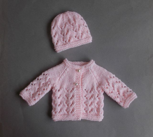 Ravelry: Little Bibi - Preemie Baby Set pattern by marianna mel