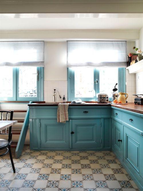 Villa Nicola Amsterdam I Photography by Frank Brandwijk I Styling Anja Koops I Kitchen B&B 02