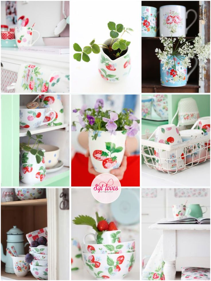 381 best beautiful pictures images on pinterest for Cath kidston kitchen ideas