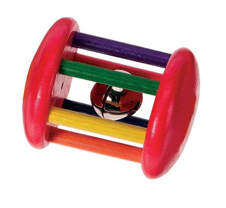 Αρχική Σελίδα :: Παιχνίδια :: Παιδικα :: Προσχολικά Παιχνίδια :: Κουδουνίστρα ξύλινη ουράνιο τόξο 8 εκ. Next 23818
