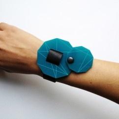 Turkuaz Gendört Bileklik - #tasarim #tarz #mavi #rengi #moda #hediye #ozel #nishmoda #blue #colored #design #designer #fashion #trend #gift