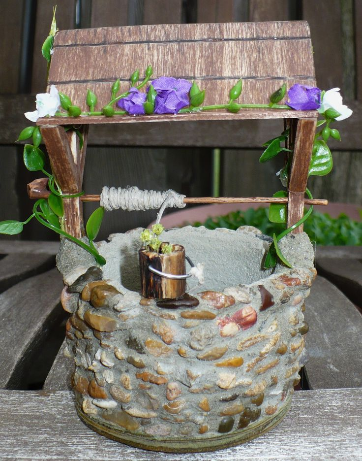 17 Best Images About Stone Fairy Garden Creations On