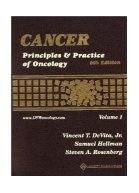 Cáncer: principles & practice of oncology  De Vita, V. T.