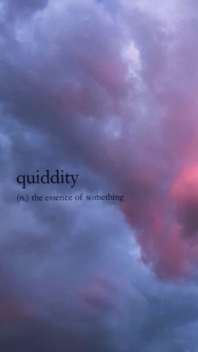 Quiddity Words Dictionary Definition Meaning Wordswallpaper Unusual Words Aesthetic Words Rare Words
