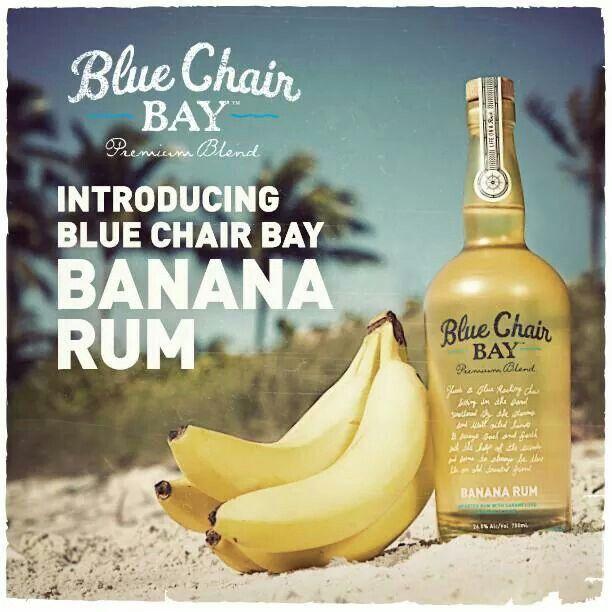 Beautiful Blue Chair Bay Banana Rum