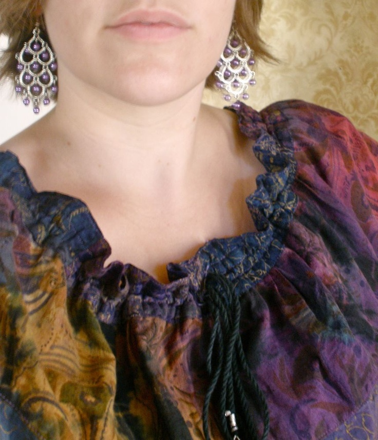 Sarahndipities ~ fortunate handmade finds: Things to Make: Refashioned Skirt to Dress Tutorial