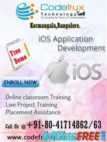 Online iOS training at CodeFrux Technologies - US Classified Ads   Post Your Ads For Free