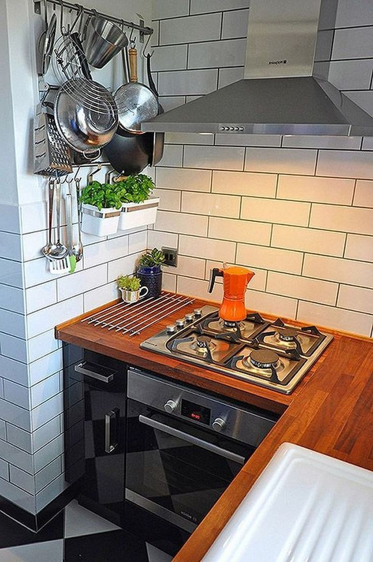 52 Ideas impresionantes de cocina pequeña de Tiny House – Página 26 de 52