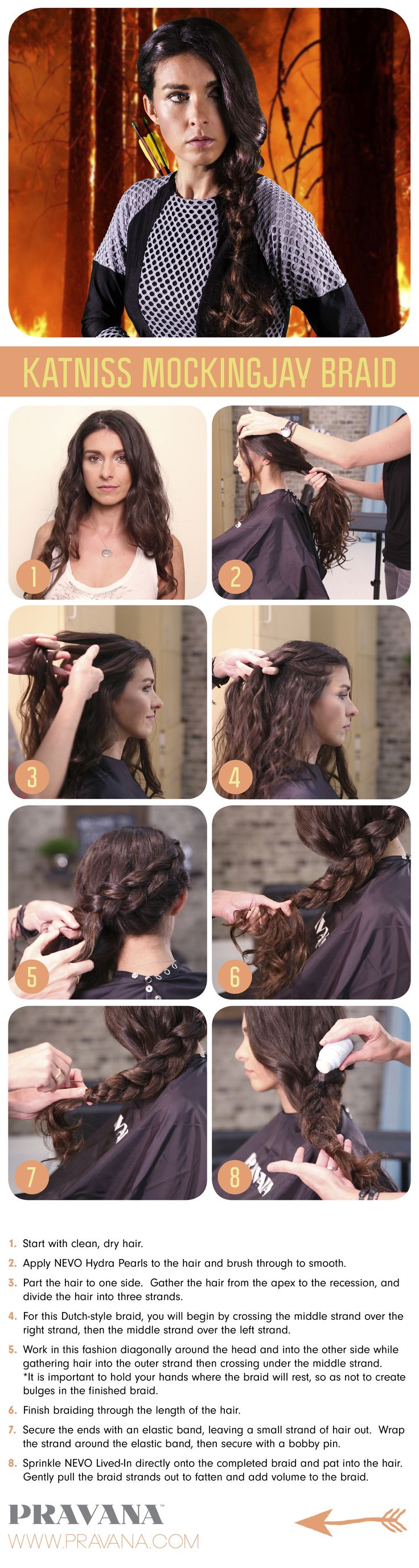 Katniss Everdeen Braid How-To #Halloween #HungerGames http://aol.it/1yHrayA