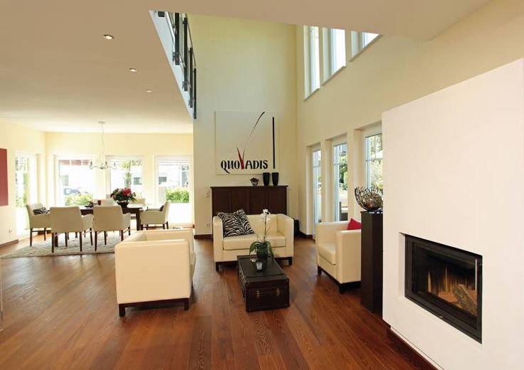 MARKANT & NOBEL – Frei geplantes Kundenhaus: moderne Wohnzimmer von FingerHaus GmbH