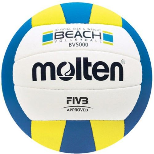 Molten BV5000 Fivb Beach Volleyball, Blue