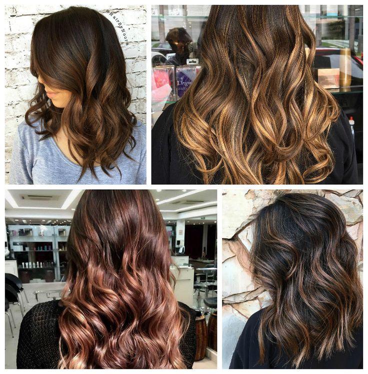 Dunkle Haare Caramel Farben Modische Frisuren Für Sie Foto Blog
