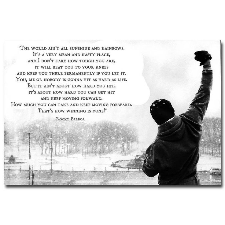 Inspirational Movie Quotes: Best 25+ Rocky Balboa Quotes Ideas On Pinterest