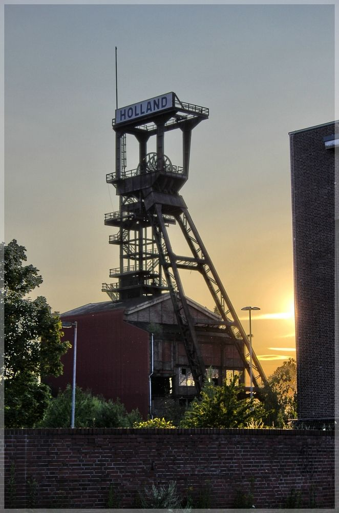 Zeche Holland - Bild & Foto von samthy aus HDRI & TM - Fotografie (25260116)   fotocommunity