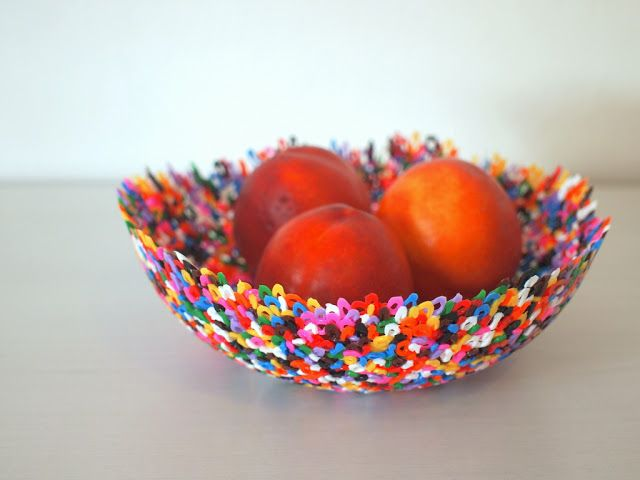 Make Perler bead bowls (and words).  Super easy activity with colorful results!
