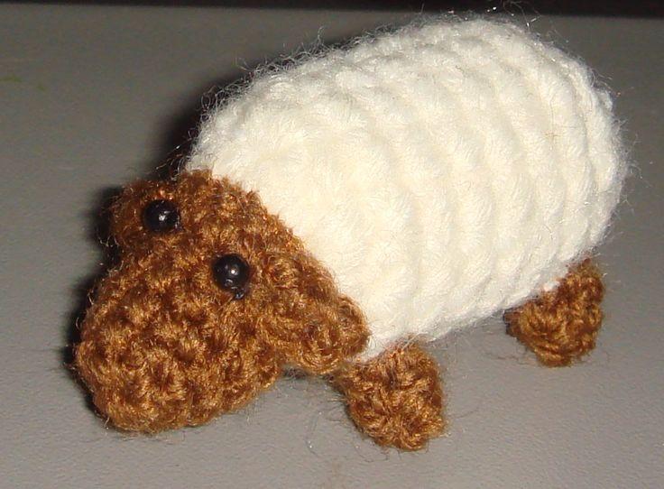szydełkowa owieczka