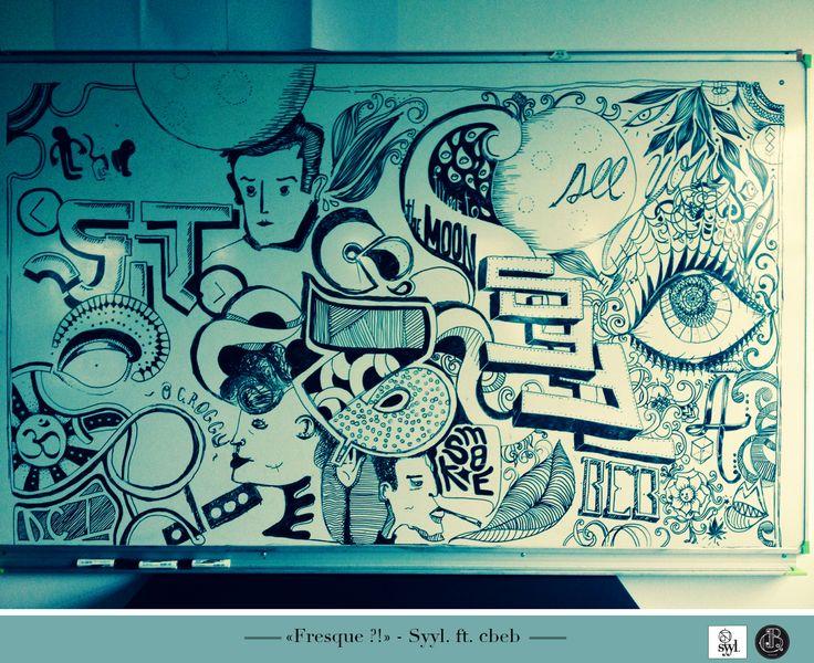 Fresque - Qu'est-ce que ?! Bbly ft. Syyl