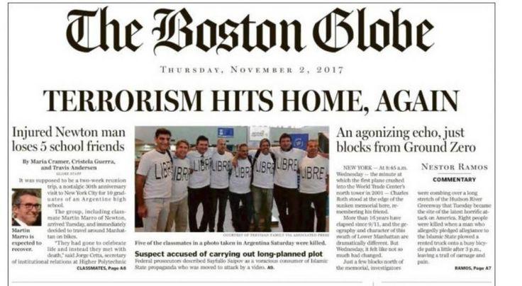 Los amigos argentinos, tapa de los principales diarios de Estados Unidos   Noticias al instante desde LAVOZ.com.ar   La Voz
